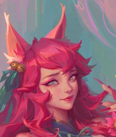 League Of Legends Characters, Lol League Of Legends, Ahri Star Guardian, Ahri Wallpaper, Character Inspiration, Character Art, Ahri Lol, Ahri League, Fan Art