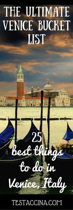 Venice things to do: