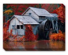 Water Mill Art.