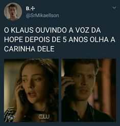 O que que tá acontecendo! Serie The Vampire Diaries, Vampire Diaries The Originals, Series Movies, Tv Series, Klaus Tvd, The Orignals, The Mikaelsons, Vampire Daries, Hello Brother
