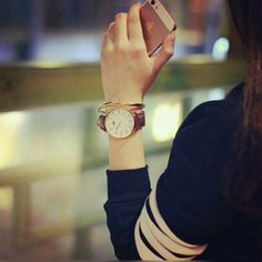 I just LuV watches Girl Photo Poses, Girl Photography Poses, Girl Photos, Cute Girl Pic, Stylish Girl Pic, Mehendi, Stylish Watches For Girls, Caviar, Girly Dp