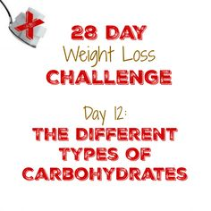 The Different Types of Carbohydrates   http://mysugarfreejourney.com/day-12-the-different-types-of-carbohydrates/