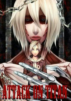 Annie and the female Titan