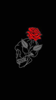 Rose Skull IPhone Wallpaper - IPhone Wallpapers
