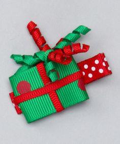 CHRISTMAS GIFT HAIRBOW