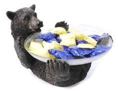 Black Bear Candy Dish
