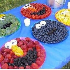 Fruit platter ideas by terri