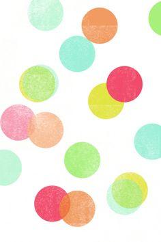 iPhone 4   dots wallpaper by eatdrinkchic