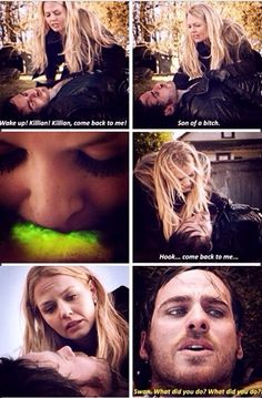 I don't think she had her magic taken away. I think true loved kids worked but she's afraid of it. CaptainSwan