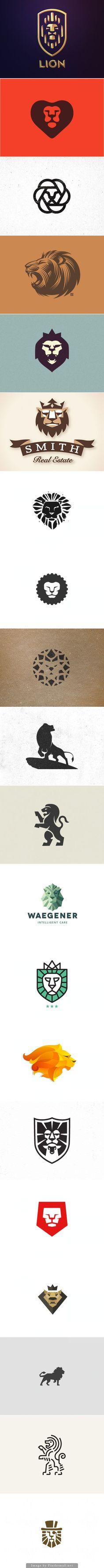 Lion Logos Más More