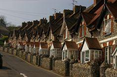 Beer,Devon Devon Cottages, Bamboo Architecture, South Devon, Devon And Cornwall, British Countryside, Exeter, House Goals, British Isles, Beautiful Islands