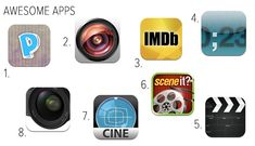 Apps & Gadgets for Filmmakers & Movie Buffs #apps #movies