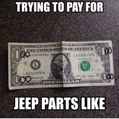 Save on Jeep Parts with Morris 4x4 Center !