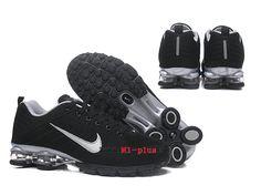 new style 3766e 85413 Nouveau Nike Air Shox nz Pas Cher Coussin De Sport Basketball Homme Panda noir  blanc-