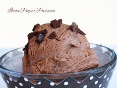 Nutella Ice Cream by ilonaspassion.com