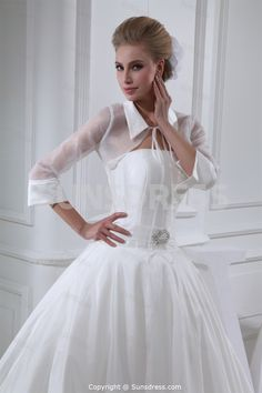 wedding dresses with jackets or sleeves - Google Search