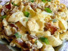 SPLENDID LOW-CARBING BY JENNIFER ELOFF: EGG AND BACON SALAD