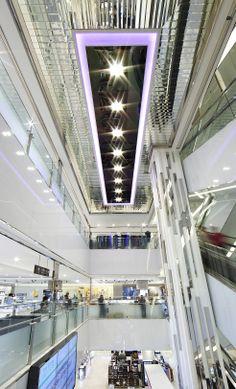 Hyundai Ulsan, S Korea - central atrium