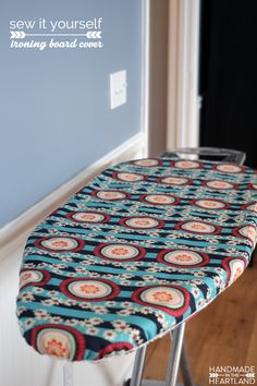Handmade in the Heartland: Make an Ironing Board Cover