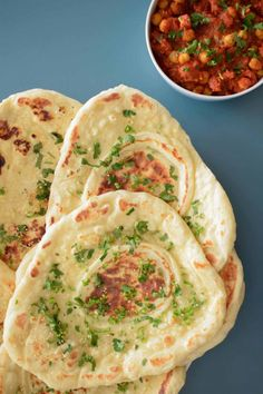 Restaurant style naan bread, make the perfect Indian flatbread at home.