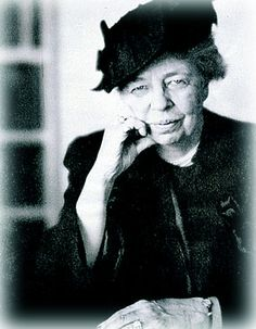 """Eleanor Roosevelt, activist You Learn by Living, You gain strength, courage and confidence by every experience in which you really stop to look fear in the face. You are able to say to yourself, """"I lived through this horror. I can take the next thing that comes along."""" You must do the thing you think you cannot do."""