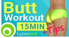 15 Minute Butt Workout at Home