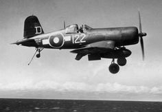 FWIW: the image is of a Fleet Air Arm Corsair IV KD780, of 1846 SQN attached to HMS Colossus in 1945.