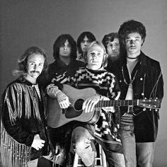 1970....Crosby, Stills, Nash & Young with Dallas Taylor and Greg Reeves.
