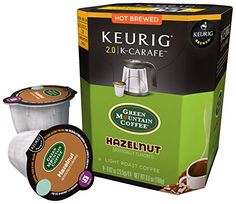 Green Mountain Coffee Hazelnut  K Carafe  8 ct >>> To view further for this item, visit the image link.Note:It is affiliate link to Amazon.