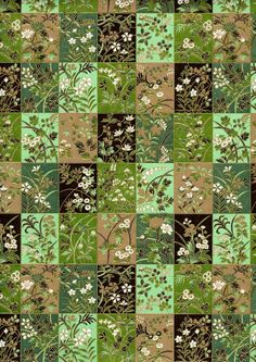 Japanese Yuzen Chiyogami Washi Paper Floral by CraftyPaperOz,