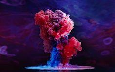 Aqueous Fluoreau — фантастический проект водного творчества Марка Мэусона / Фантастически красивые фотографии разноцветных капель, падающих в воду, которые снял Марк Мэусон. Они больше похожи на компьютерную графику, кадры из космоса, и даже на ядерный взрыв, чем просто на воду и краску. Великолепно!