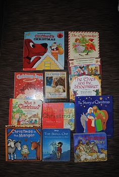 The Inspiration Thief: Christmas Book Advent Calender with Reading List ~ love the idea of a Book countdown Christmas Cards To Make, Christmas Books, A Christmas Story, Little Christmas, Christmas Holidays, Christmas Gifts, Christmas Blessings, Christmas Stuff, Happy Holidays