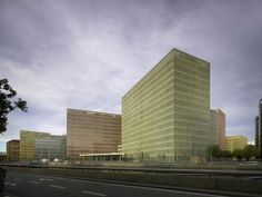 Completed Buildings - Civic and Community: City of Justice, Barcelona, Spain by David Chipperfield Architects, United Kingdom