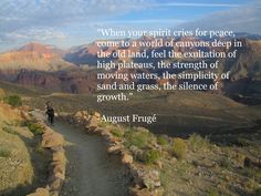 Inspiring Quotes about the Grand Canyon.
