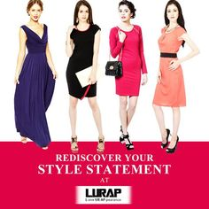 Experience the best customize clothing online. Lurap is the leading online clothing store in the US and Canada for standard size as well as plus size   women. With custom clothing feature you can choose your own style and design according to advanced modern trend. http://www.lurap.com/customize/