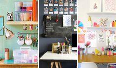 Work It: 15 Inspiring Ideas for a Creative Workspace