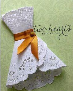 Cutesy! Bridal shower/kitchen tea invite idea