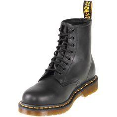 $149.99 Dr.Martens R11822003 8 Eyelet 1460 Black Greasy| zelenshoes.com