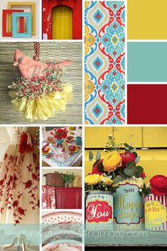 Yellow and Turquoise Home Decor Lovely A February Mood Board Decorating with Red. Yellow and Turquoise Home Decor Lovely A February Mood Board Decorating with Red Turquoise and Yell Living Room Decor Yellow And Grey, Living Room Turquoise, Living Room Red, Turquoise Home Decor, Red Turquoise, Red Home Decor, Room Colors, House Colors, Br House