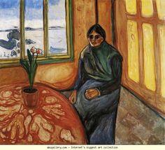 Edvard Munch. Melancholy, Laura. Olga's Gallery.