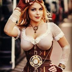 Awesome Steampunk Cosplay by Captain Irachka Cosplay . Remember to follow and tag your very best steampunk shots #steampunk_realm or #steampunkrealm for a chance to be featured on our page. . #steampunk #steampunklife #steampunkstyle #steampunkgirl #hotsteampunkgirl #sexysteampunk #sexysteampunkgirl #hotgirlsteampunk  #corset #steampunkcorset #girlincorset #girlinacorset #hotcorset #hotsteampunkcorset #cosplaycorset #train #steampunkgun #steampunkgoogles Steampunk Corset, Steampunk Cosplay, Steampunk Fashion, Hot Girls, Girly, Beautiful Women, Blog, Wonder Woman, Superhero