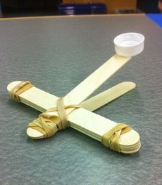 An awesome and simple program for school age children about making and using catapults in the library!
