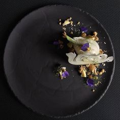 Fennel gelatin fresh sliced fennel persimmon crunchy muesli 'n raisins white chocolate by @luca.rosati  Tag your best plating pictures with #armyofchefs to get featured.  - find more inspiration and some of the best culinary jobs on our site!