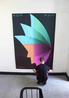 Swinburne University Graduate Exhibition Invitation + Posters