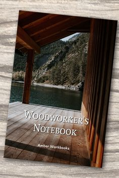 Plan your next woodworking project with the help of this note book, with a materials list and special pages for sketches to flesh out your ideas. Woodworking Journal, Woodworking Projects, Project Planner, Graph Paper, Top Of The World, The Help, Sketches, How To Plan, Notebook