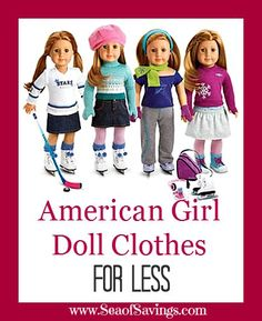 Cheap American Girl Doll Clothes!