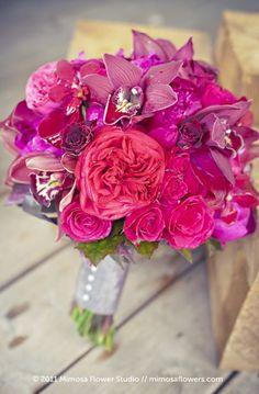 Red amaranth fuchsia wedding bouquet flowers    Keywords: #fuchsiaweddings #jevelweddingplanning Follow Us: www.jevelweddingplanning.com  www.facebook.com/jevelweddingplanning/