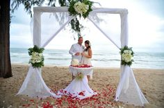 Phuket Wedding Phuket Wedding, Thailand Wedding, Destination Wedding, Beach Wedding Packages, Event Organiser, Wedding Ceremony, Marriage, Table Decorations, Style