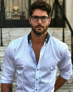 Discover recipes, home ideas, style inspiration and other ideas to try. Nick Bateman, Just Beautiful Men, Beautiful Men Faces, Handsome Italian Men, Models Men, Male Model Names, Mens Glasses, Long Haired Men, Hairy Men