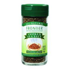 Frontier Herb Grinder - Yakima Applewood Smoked Sea Salt - 2.4 Oz